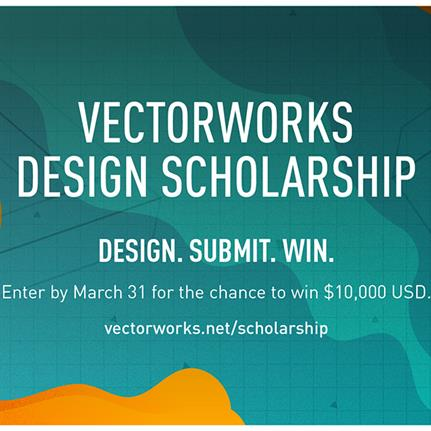 Fifth Vectorworks Design Scholarship open for submissions