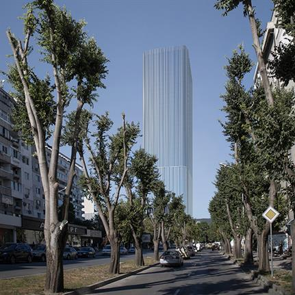 First and tallest skyscraper on Bulgarian seaside