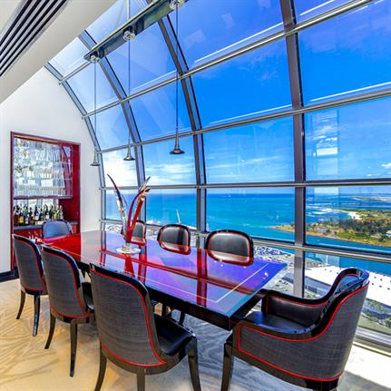 'Penthouse in the Sky' exhibits modern Hawaii luxury living