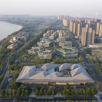 NBBJ design China's innovative sustainable offices for Nanjing Eco Hi-Tech Island
