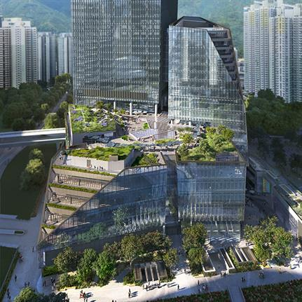 Snøhetta's first project in Hong Kong to transform Kai Tak Airport Site