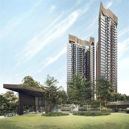 ADDP Architects Singaporean sustainable residential project