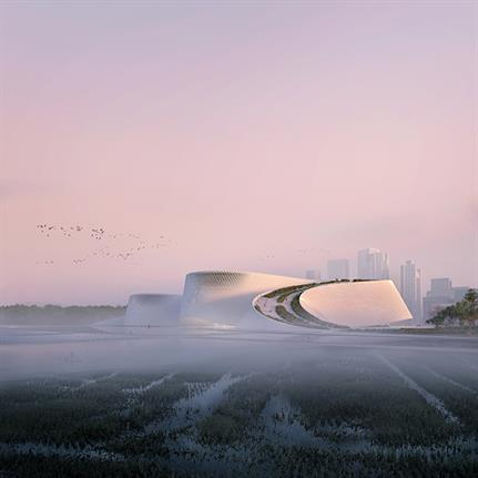 "Trio's winning ""Delta"" design to become Shenzhen's new Natural History Museum"