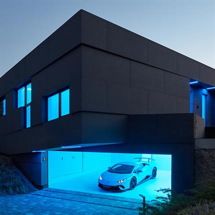 Prague's smart home with artificial intelligence by Coll Coll