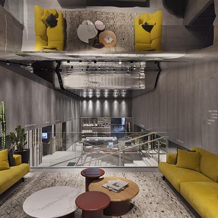 Baranowitz + Kronenberg unveil designs for Tel Aviv's Caesarstone House