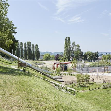 Espace Libre design France's new Jesse Owens park