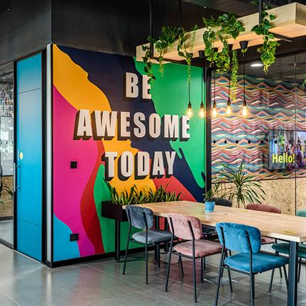 World's first WELL Health-Safety rated co-working space