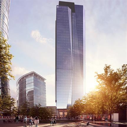 The Bridge: UNStudio prepare skyscraper project in Poland
