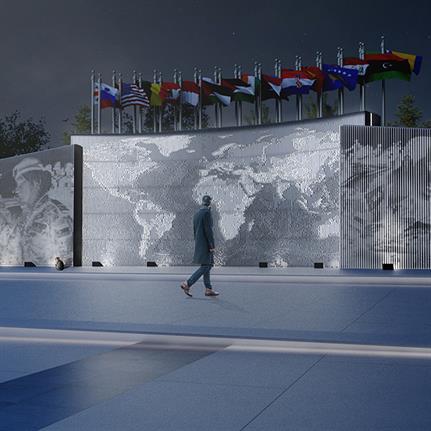 The UN Square Murals: MEAN*'s historic Middle Eastern promenade for Jordan