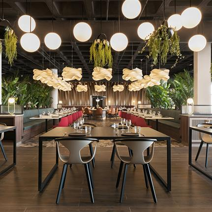 Dragons inspire estudi{H}ac's design for Spanish restaurant