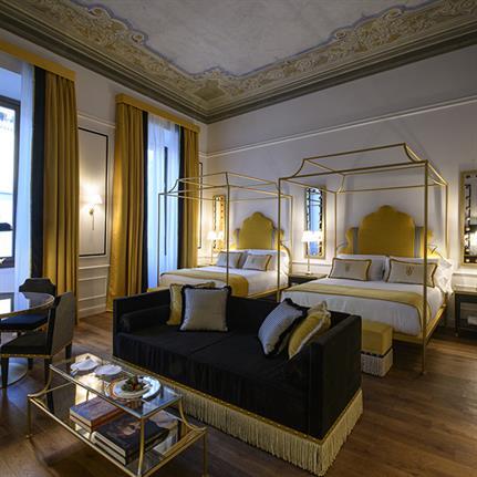 "Florence's five star Hotel ""IL Tornabuoni"" by Andrea Auletta Interiors"