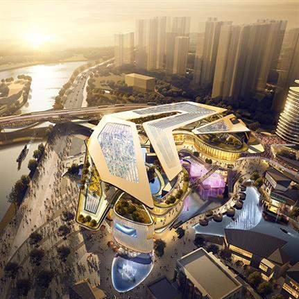 LWK + PARTNERS unveil residential and retail designs for Chinese harbour