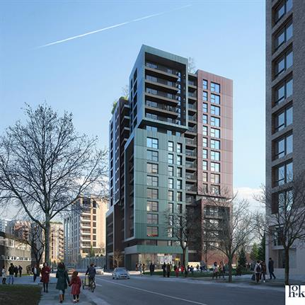 HOK's mixed use masterplan for West London receives planning approval