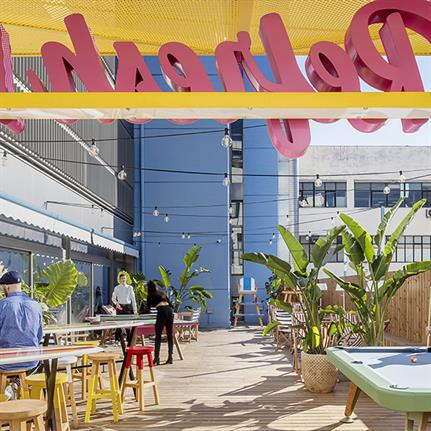 From call-centre to coast: Barcelona's beach inspired office
