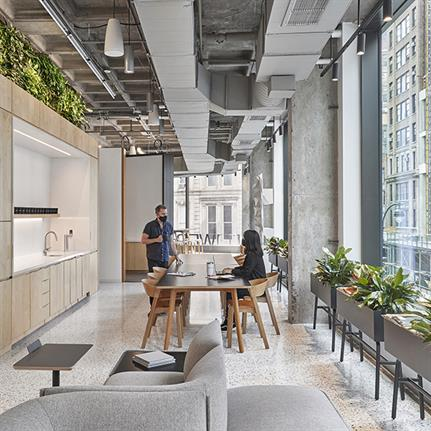 Perkins&Will unveils new post-pandemic design for New York studio
