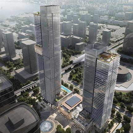 10 Design win Vietnam's Landmark 55 competition with two towers