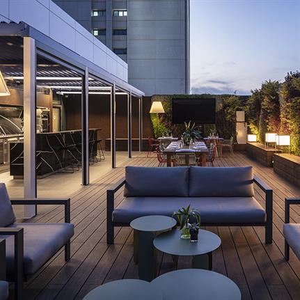 Studio Gad's hospitality inspired hospital ignites Tel Aviv's senses
