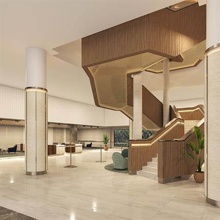 Largest Hilton outside the US gets refurb by Perkins&Will
