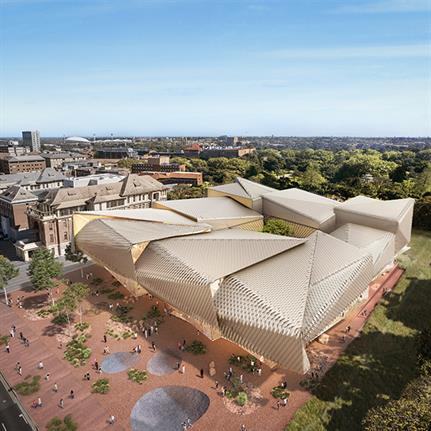 Design duo reveal concept for Australia's Aboriginal Art and Cultures Centre