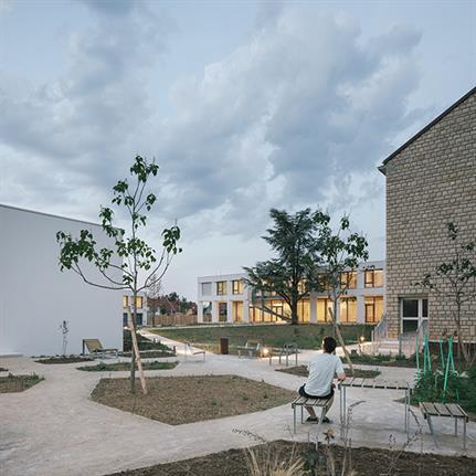 Voila! Vallet de Martinis Architectes produces an educational trio of French projects