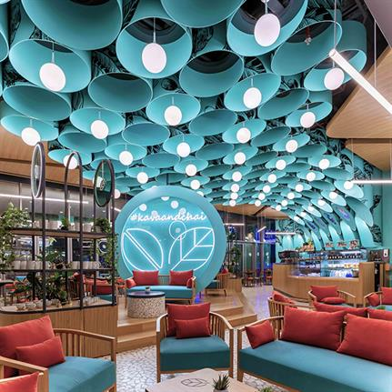 2019 WIN Awards: Kava & Chai (Dubai International Financial Center Branch) - 4SPACE Design