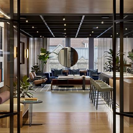 Manhattan's mid-century private membership club by Fogarty Finger