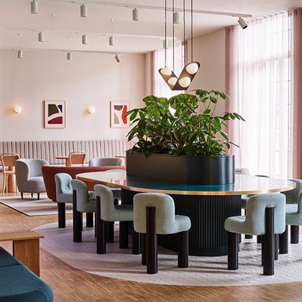 Design duo collaborate in London's latest creative workspace