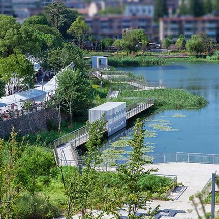 2021 WAN Awards entry: Chizhou City Moat Heritage Park - U.P.Space Landscape Architecture Design Consultants Co.,Ltd.