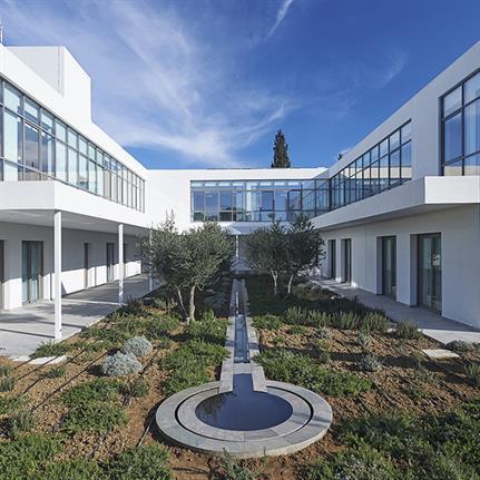 Philippou Architects's rehabilitation centre on the island of Cyprus