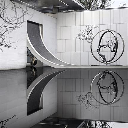 2019 WIN Awards: Chengdu Green Town Feng Qi Chao Ming Sales Center - Matrix Design