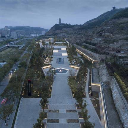2019 WAN Awards: Yan'an Baota Mountain Tourist Service Center - Architectural Design & Research Institute of Tsinghua University Co.,Ltd
