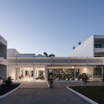 Zooco Estudio's oasis hotel resort on the island of Lanzarote
