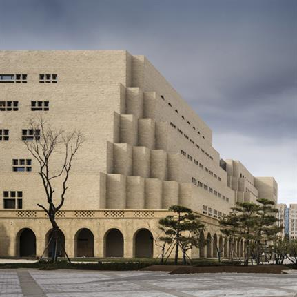 2019 WAN Awards: Library Cluster Design for the New Campus of Yan'an University - Architectural Design & Research Institute of Tsinghua University Co.,Ltd