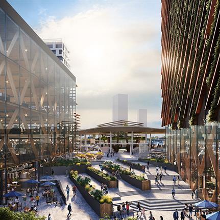 Sacramento Valley Station Area Plan awarded for environmental innovation