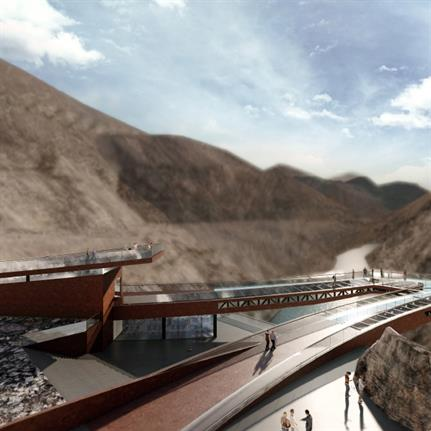 2019 WAN Awards: Viewing Platform of Nujiang(Salween River) 72-turnings Canyon in Basu,Tibet - ARCH-HERMIT