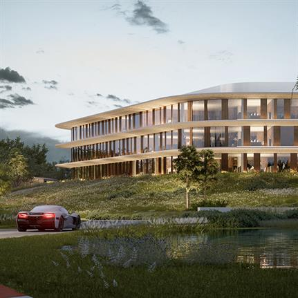 3LHD's Rimac Campus design intertwines nature and tech on Croatia's landscape