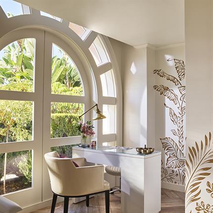 Champalimaud Design transform The Beverly Hills Hotel Spa