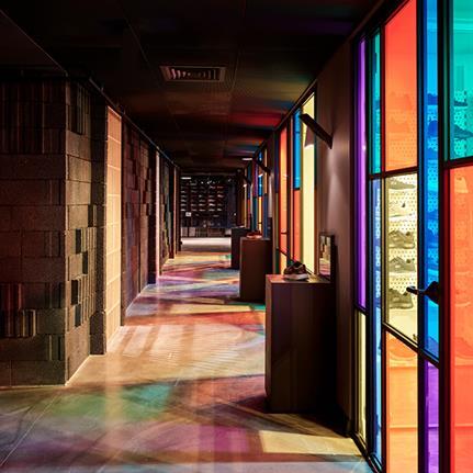 Olka Office: sportswear supplier showroom by Habif Architects in Istanbul