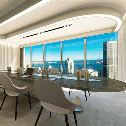 Miami's first new standalone Class A Plus office tower in more than a decade