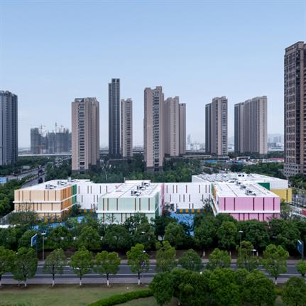 2019 WAN Awards: Colourful Childhood: Wujun Kindergarten - Tus-Design Group Co., Ltd