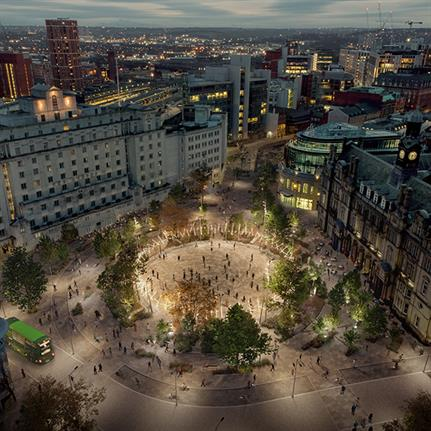 re-form to deliver transformation of gateway public realm in Leeds city centre