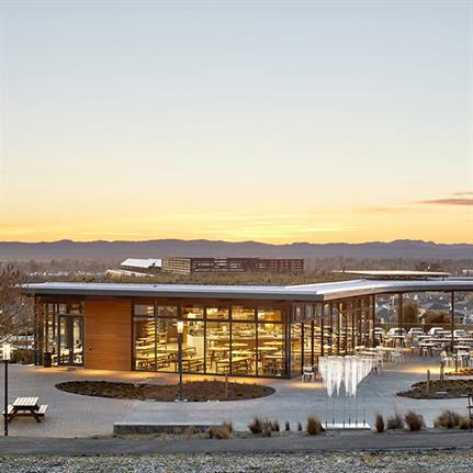 WRNS Studio designs California's first Zero Carbon Certified building