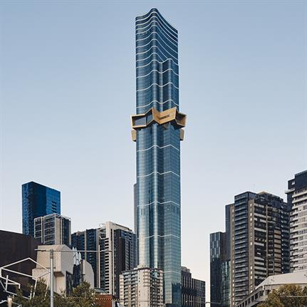 Melbourne's new residential tower is the tallest in the Southern Hemisphere