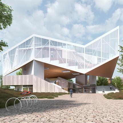 JDAP design Central Library for the 21st century in South Korean