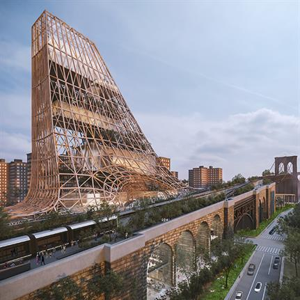 DXA studio win award for reimagining the Brooklyn Bridge