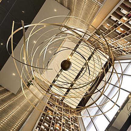 2019 WIN Awards: Shanghai Jindi Zhuqiao AD2040 Sales Center - Matrix Design