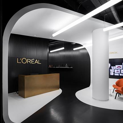 2019 WIN Awards: L'Oréal Moscow Office - IND architects