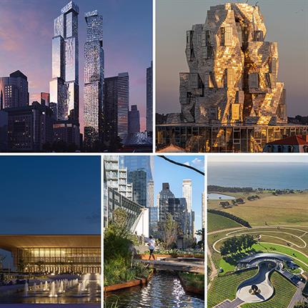 Foster + Partners' House of Wisdom, Australia's curvy winery and two towers in Toronto