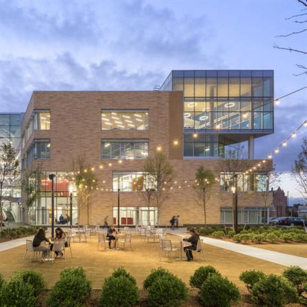 2019 WAN Awards: Carnegie Mellon University, Tepper Quad Project - BuroHappold Engineering