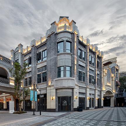2019 WAN Awards: Sunac Baixiang Street Urban Complex, Chongqing